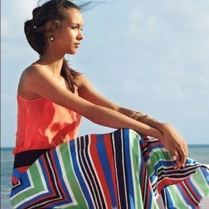 Lilly Pulitzer   Kelli-lyn Silk Maxi Skirt 6